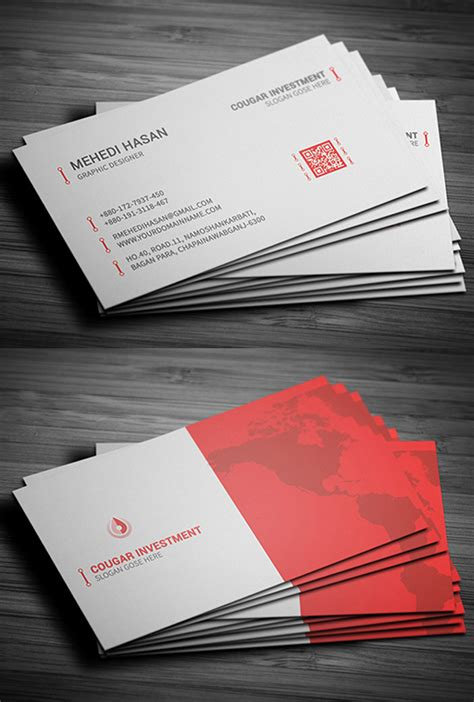 Print Ready Business Card Template by 26 New Professional Business Card Psd Templates Design