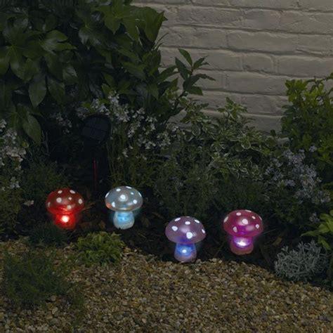 cool garden lights solar garden fairies