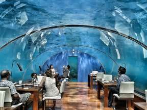 ithaa undersea restaurant at conrad maldives rangali 10 secret places around the world that you should know