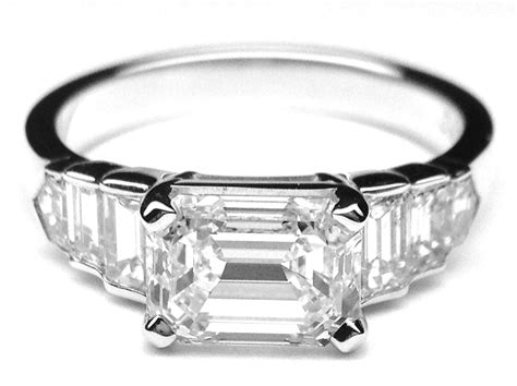 horizontal engagement rings from mdc diamonds nyc