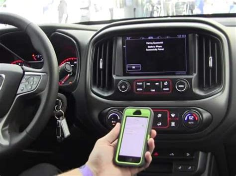 gmc bluetooth pairing how to pair bluetooth with iphone 5 6 for gmc and chevy