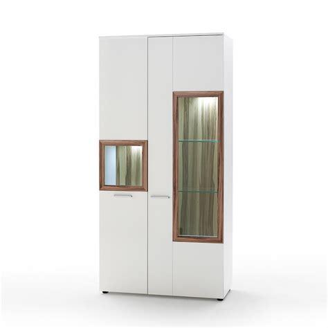 schrank vitrine vitrine vitrinenschrank schrank wei 223 hochglanz baltimore