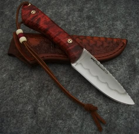 Handcrafted Knife - custom knife thread hello from backwoods custom knives