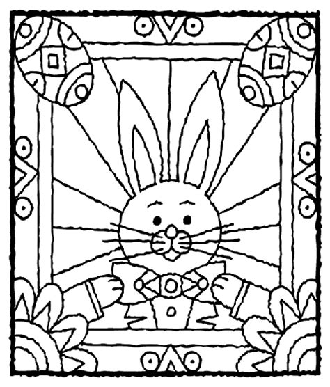 crayola coloring pages easter bunny easter bunny with eggs coloring page crayola com