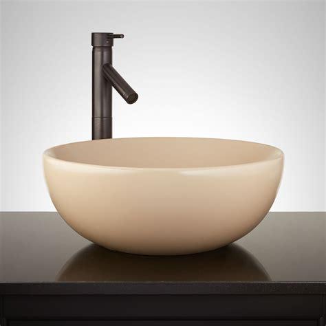 red vessel bathroom sinks toucey porcelain vessel beige vessel sinks