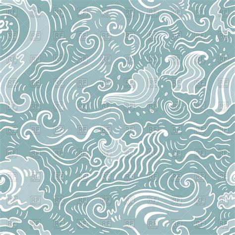 ocean pattern vector sea patterns