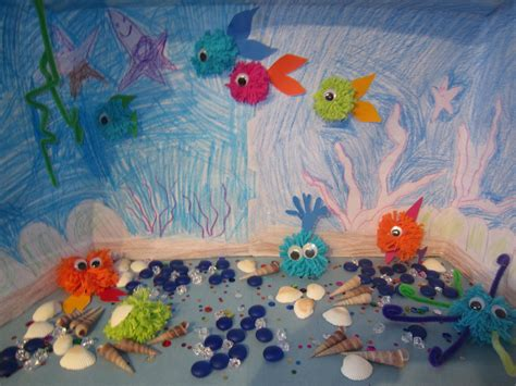 sea creature crafts for townhome the sea pom pom creature craft