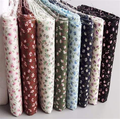 Sewn Patchwork - 8pcs 23cm 24cm cotton cloth patchwork fabric sewing