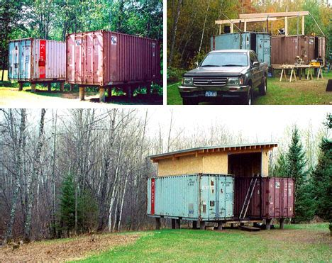 Diy Shipping Container Home Builder Ideas Two If By Sea Diy Cargo Shipping Container Home On Stilts
