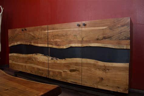 designer highboard designer highboard im modernen landhausstil aus suar holz