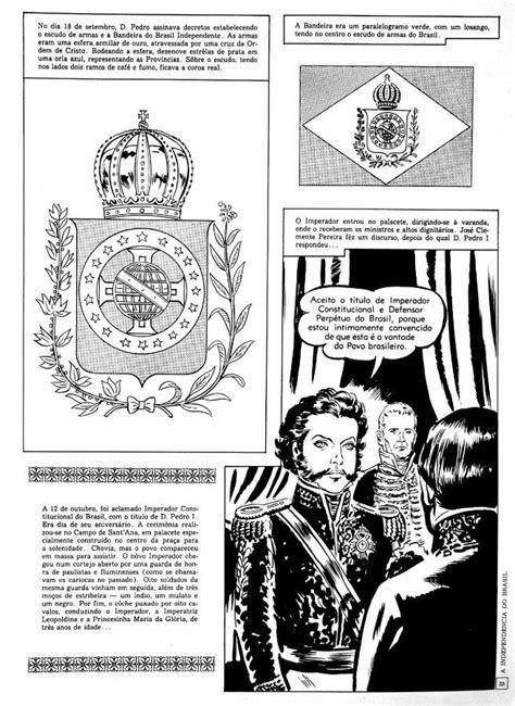 A independênciado brasil em quadrinhos - O LIVRO CONTA A
