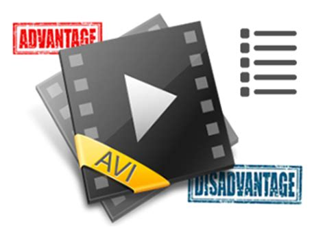audio file format pros and cons what is avi audio video interleave video format
