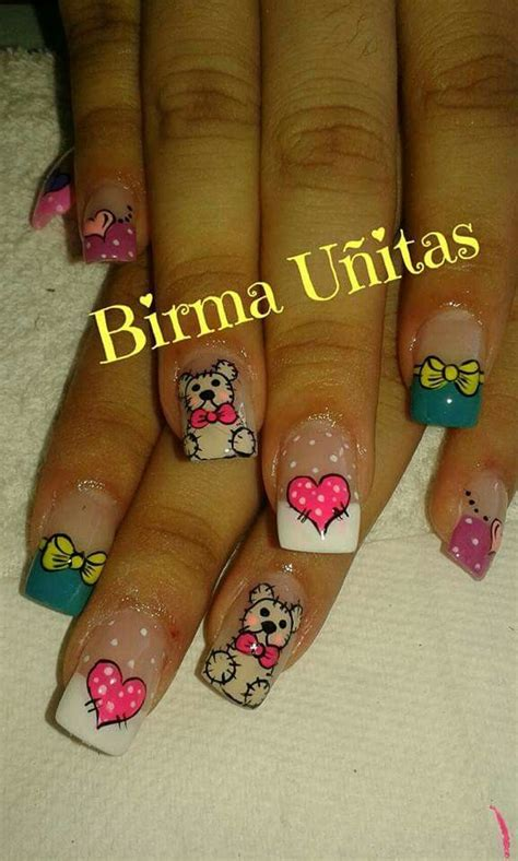 imagenes de uñas decoradas mas bonitas m 225 s de 1000 ideas sobre u 241 as decoradas rojas en pinterest