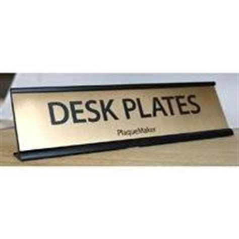 office desk name plates desk name plates bronze 10 x 2 office