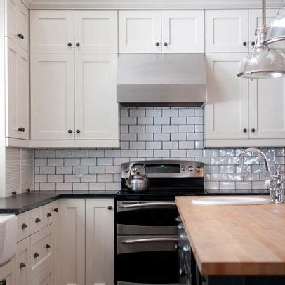 subway tiles with dark grout houzz white subway tile dark grout house inspiration kitchen