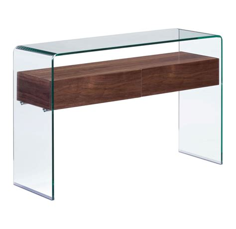 Console Table Canada Zuo Modern Shaman Console Table Walnut 404067 Modern Furniture Canada