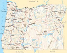 map of oregon with cities printable map of maps of oregon cities counties and towns