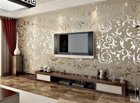 Tapeten Wohnzimmer by Tapeten Ideen F 252 R Eine Ausgefallene Wandgestaltung