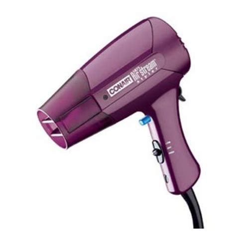 Garbage Bag Hair Dryer conair 1875 watts 074r air streamer hair dryer 110 220 volts 110220volts