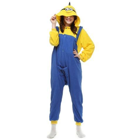 Piyama Onesie Minion Unisex Baru New Despicable Me Minion Pajamas Sleepwear Pyjamas
