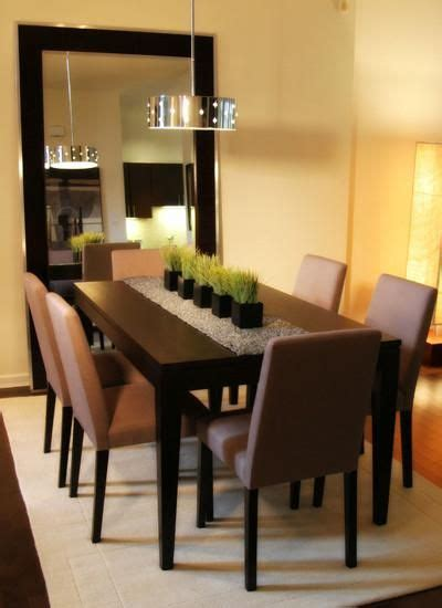 Fancy Dining Room Mirrors 25 Dining Table Centerpiece Ideas Home