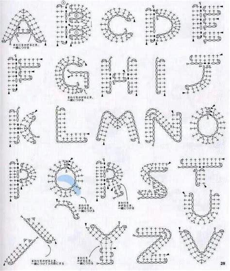 letter pattern pinterest alphabet crochet pattern crochet patterns pinterest