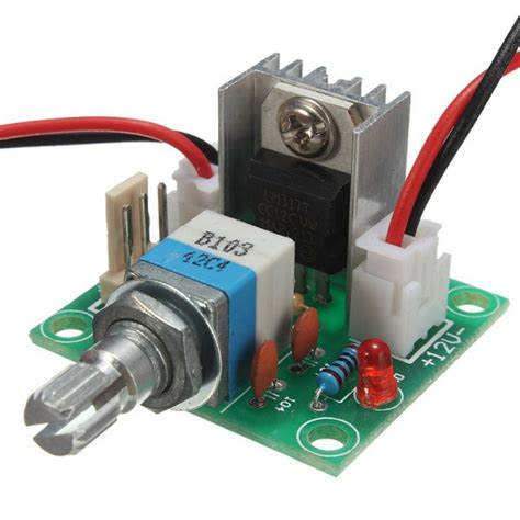 Regulator Bor buy lm317 voltage regulator board fan speed with