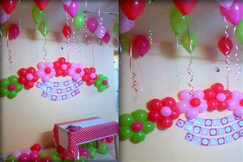 simple balloon decoration ideas at home balloon decorating ideas for birthdays best home design 2018