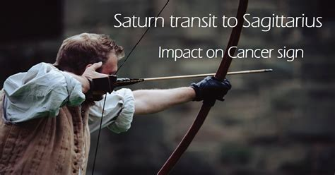 Saturn In The 6th House by Saturn Transit To Sagittarius Impact On Cancer Sign