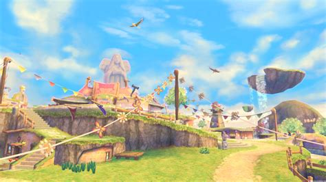 Artistic Lighting Game Review The Legend Of Zelda Skyward Sword Wii