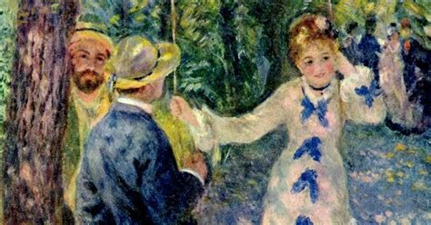 La Balancoire Renoir by Testclod La Balan 231 Oire De Auguste Renoir 1876