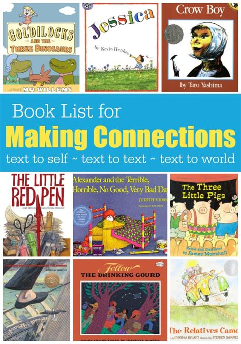 picture book texts book list for connections
