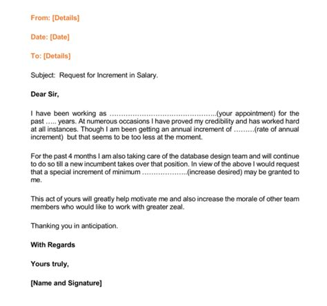 awesome collection of salary raise request letter twentyeandi for