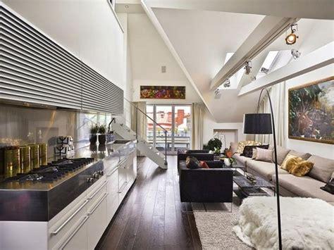 Loft Interior Design Ideas Decorations Kitchen Design For Lofts 3 Ideas From Snaidero For 10kitchendesignlofts3