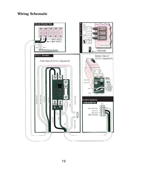 ground fault breaker wiring diagram for spas ground fault