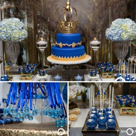 Royal Baby Shower Decorations by Royal Blue And Gold Prince Shower Baby Shower Ideas
