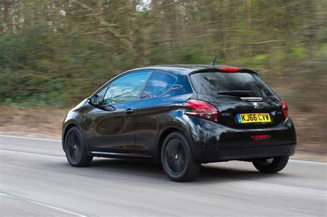 peugeot black peugeot 208 black edition review pictures auto express