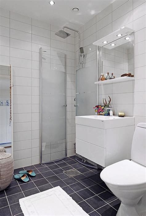 Open Shower Small Bathroom Scandinavian Bathroom With Open Shower Ideas For Rvst