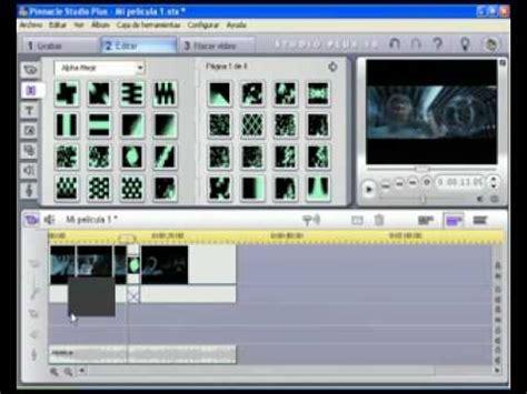 tutorial video pinnacle video tutorial pinnacle studio para principiantes nivel