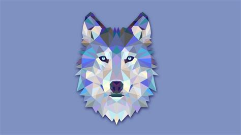 download wallpaper the wolf s head abstraction wolf