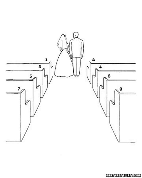 Wedding Ceremony Drawing by Diagram Your Big Day Christian Wedding Ceremony Basics