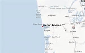 Ocean Shores Washington Map by Ocean Shores Location Guide