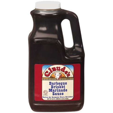 claude s barbeque brisket marinade sauce 64 fl oz