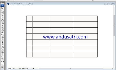 tutorial on html tables how to make a table in photoshop