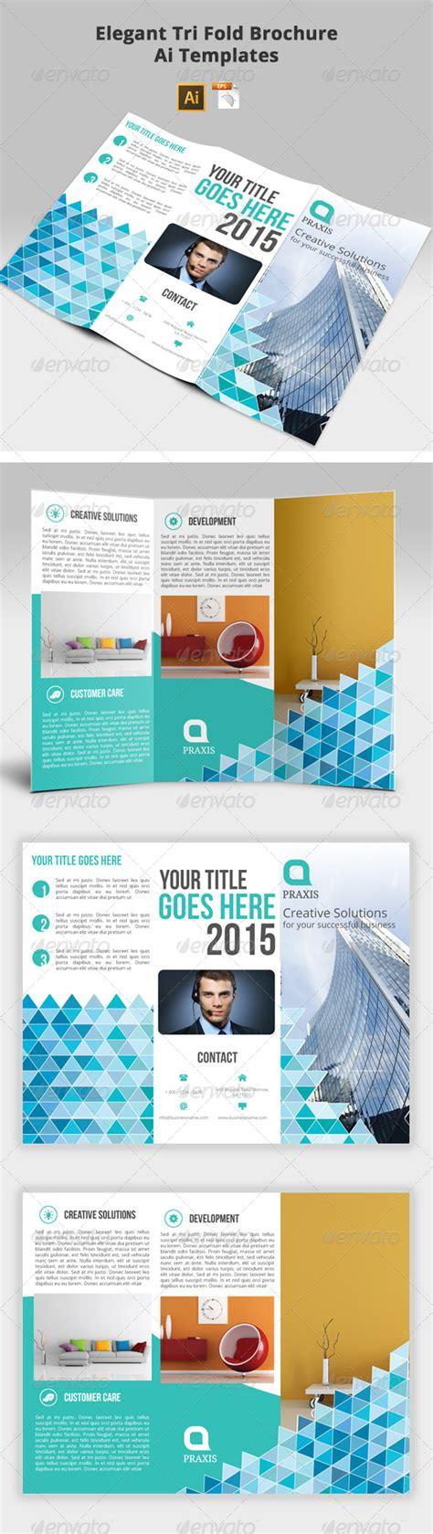 tri fold brochure ai template tri fold brochure ai templates graphicriver