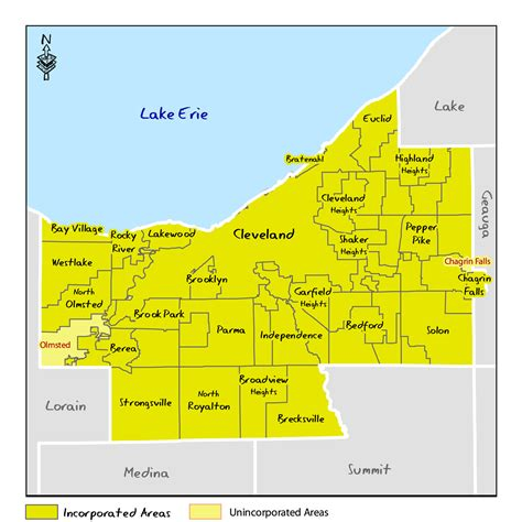 Cuyahoga Records Ohio Dnr Lake Erie Access Guide Cuyahoga County