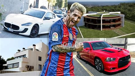 auto house lionel messi house and cars house plan 2017