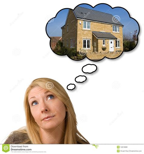 dreaming of a house dreaming of new house stock photo image of hope hoping 12810808