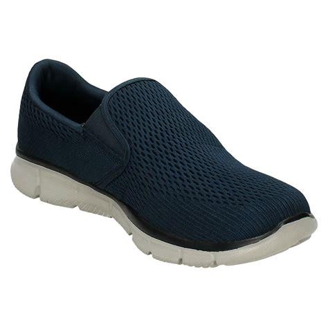 memory foam slip on shoes mens skechers memory foam slip on walking shoes
