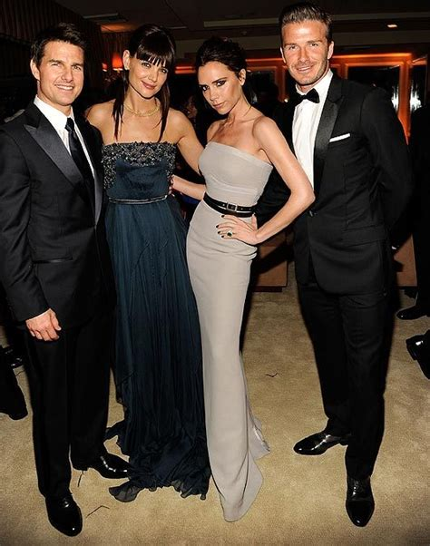 Posh And Becks Freaking Us Out by Posh And Becks Step Out With Tom And The Sun